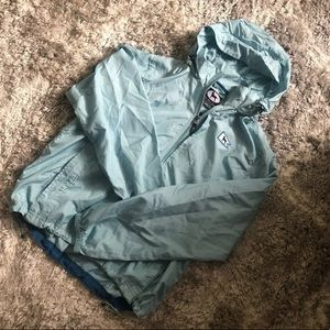 The Black Dog Blue Windbreaker Jacket